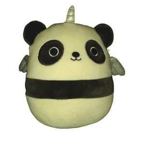 Squishmallow Kayce the pandacorn. 8 inches.